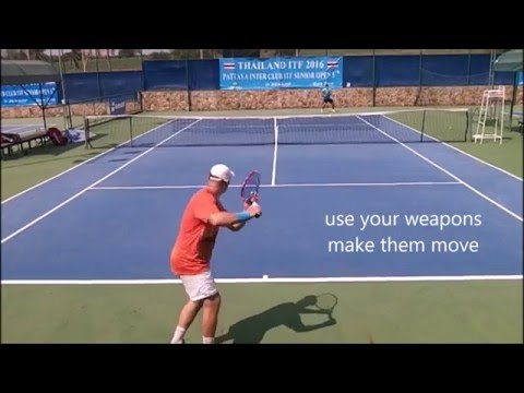 Think Don't Just Play--Pattern Recognition in Tennis