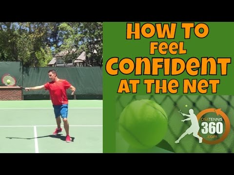 Tennis Volleys | How To Feel Confident at the Net