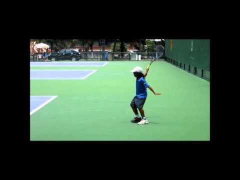Jedi Tennis--11 year Old Jedi from Pattaya, Thailand