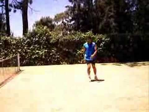 Your tennis training warmup look like this?