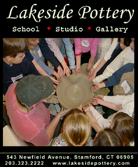 Children Pottery art after school and Summer Camp at lakeside Pottery stamford, ct