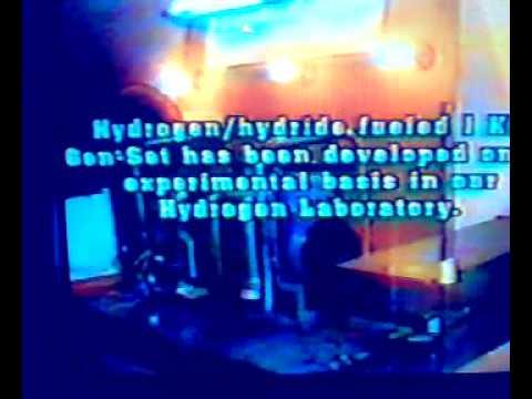 HYDROGEN HYDRIDE GEN SET