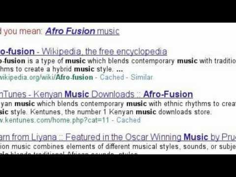 Afrofusion Music