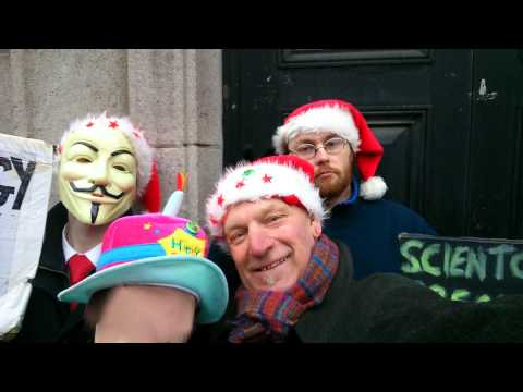 December 2013 Dublin Anti-Scientology protest