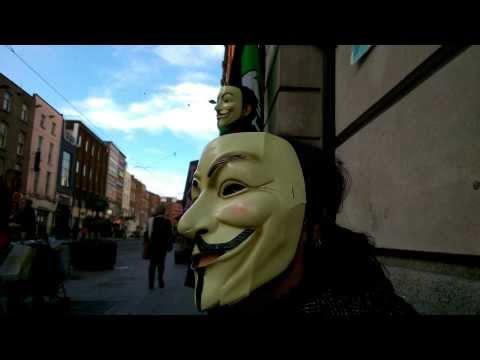 February 2014 Dublin Anti-Scientology protest