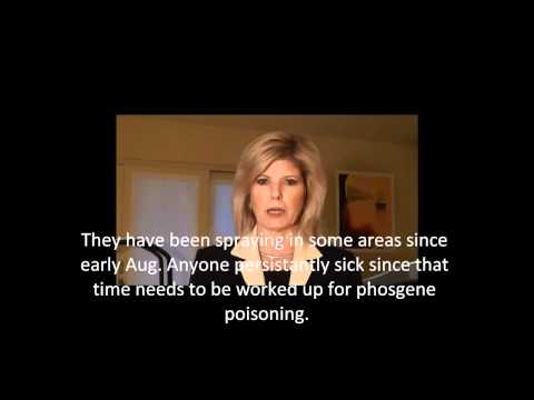 Mass Deaths Birds & Fish by phosgene gas - USA steals WMD from IRAQ [for consideration purpose only]