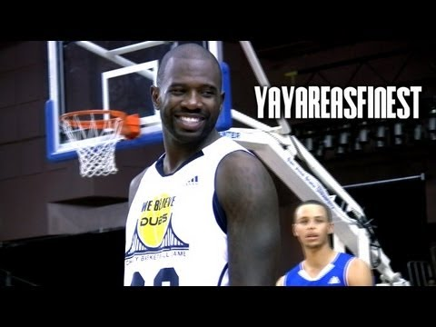 BAY AREA Pro's Put On A Show in Charity Game!!! Arenas, Curry, D-Wright, J-Rich & More!!!