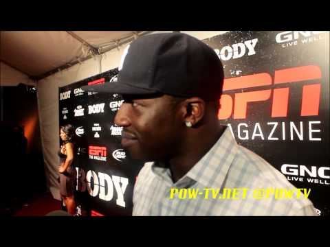 ESPN The Magazine Red Carpet Hope Solo, Natasha Hastings, Nelly, Melyssa Ford, & MORE