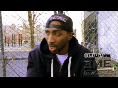 Mysonne Exlusive Interview Part 1 (tour with Game, Lil B feud, NY not winning) [EME]
