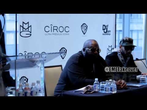 Rick Ross & MMG Press Conference 5-2-12 [EME]