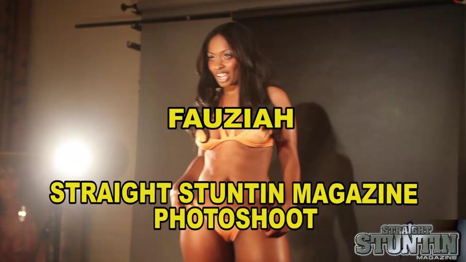 Fauziah - Straight Stuntin Magazine Photo Shoot