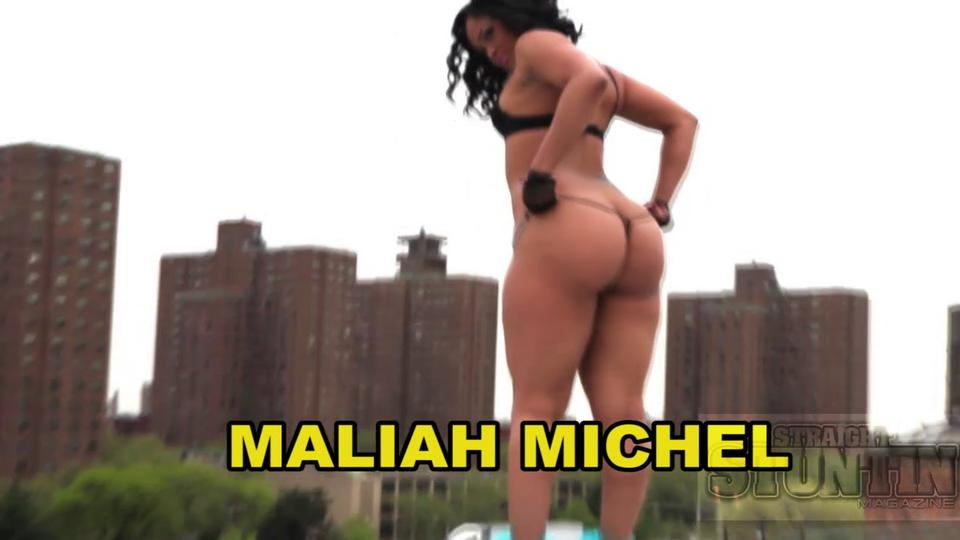 Maliah Michel - Straight Stuntin Magazine Shoot 2