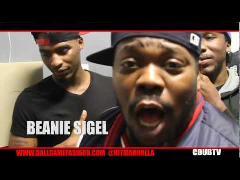 BEANIE SIGEL BETS $5000 ON HITMAN HOLLA AND TALK MAYWEATHER VS PAC FIGHT