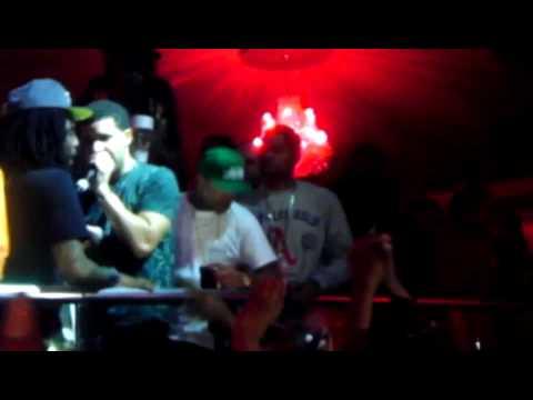 Drake at The Velvet Room (Crew Love & Amen Feat Meek Mill)