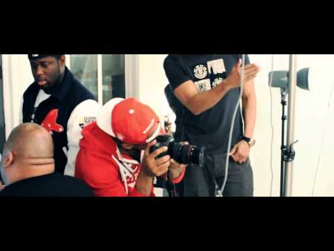 Behind the Scenes: Urban Ink Photoshoot with French Montana + Secret Moneii