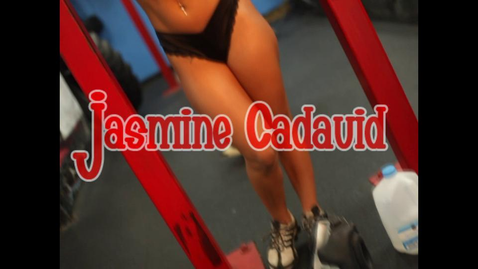 """Jasmine Cadavid Sexy Work Out Video """"Take it to the Head"""""""