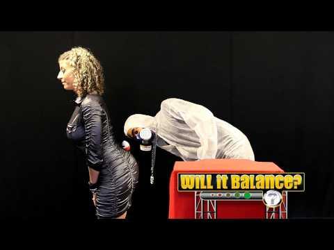 Can Sara Jay Balance a Kinder Egg on Her Booty? - 'Will It Balance' EP12 [Season 2]