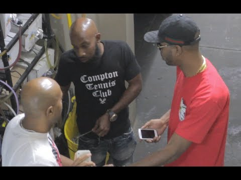 Serius Jones Raps His Rounds For Math Hoffa Battle - Behind The Scenes Summer Madness 3