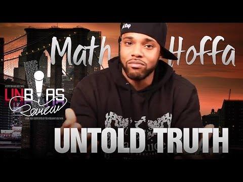 Math Hoffa: The Untold Truth ( @UnbiasReview ) @MathHoffa