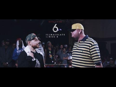 KOTD - Rap Battle - Illmaculate vs Bigg K