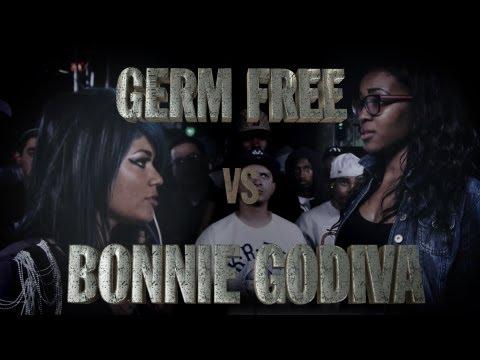 KOTD - Rap Battle - Germ Free vs Bonnie Godiva