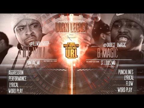 B MAGIC VS ILL WILL SMACK/ URL (@DABEST_BMAGIC vs @ILLWILL6DEEP)