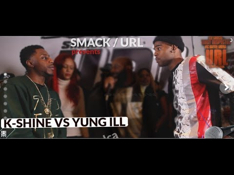 @JAYBLAC1615 - K SHINE VS YUNG ILL SMACK/ URL REVIEW