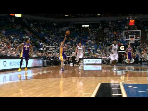 Steve Nash Returns with the Long Oop to Wesley Johnson