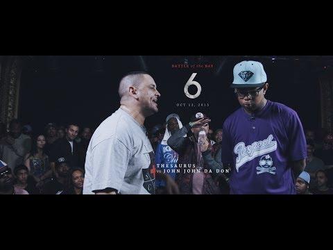 KOTD - Rap Battle - The Saurus vs John John Da Don