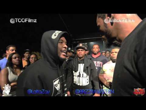 Rap Battle - Brizz Rawsteen vs Lottazay @BrizzRawsteen vs @LottaZay