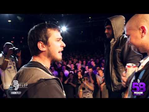 Don't Flop Rap Battle   DIZASTER & OSHEA VS PHILLY SWAIN & PEDRO