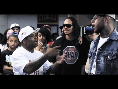 John John Da Don vs Danny Myers   AHAT Rap Battle   Atlanta vs Las Vegas