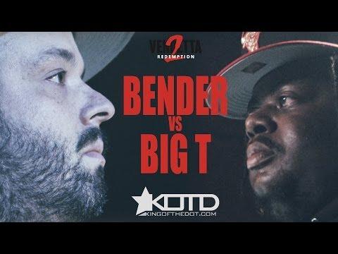 KOTD - Rap Battle - Bender vs Big T