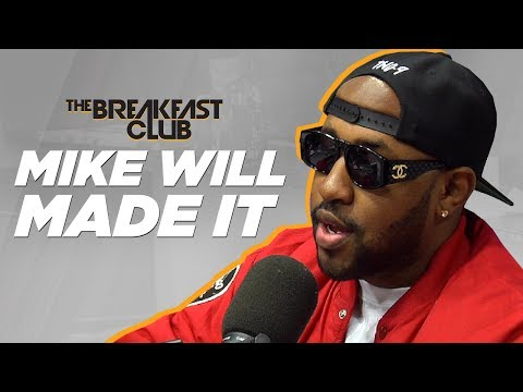 Mike WiLL Made It  Interview at The Breakfast Club Power 105.1
