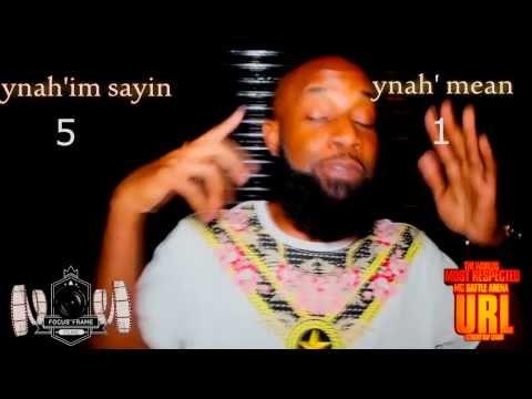 Smack Speaks 'You know what i'm sayin'. URL - ULTIMATE RAP BATTLE LEAgue SM3 MATH PUNCH