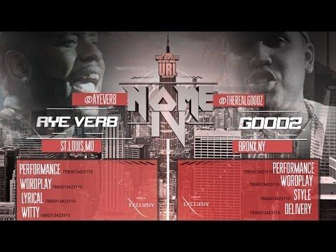 SMACK/ URL: AYE VERB (@AYEVERB) VS GOODZ (@THEREALGOODZ): HOSTED BY JADAKISS