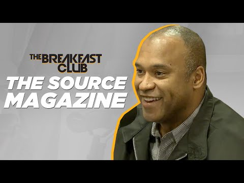 The Source Magazine Interview at The Breakfast Club Power 105.1