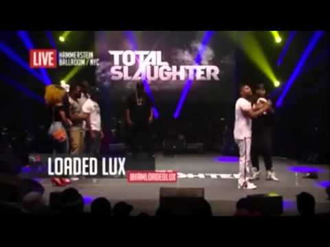 BATTLE RAP - Loaded Lux Vs Murda Mook (THE REMATCH)