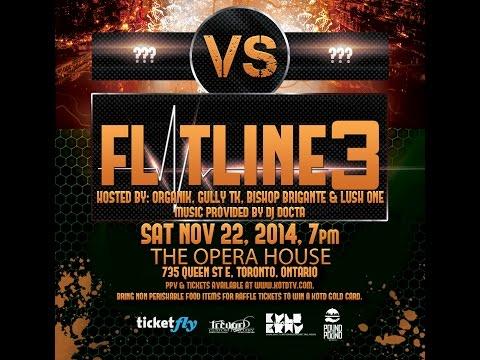 KOTD - #FLATLINE3 - Match Up Announcement #1