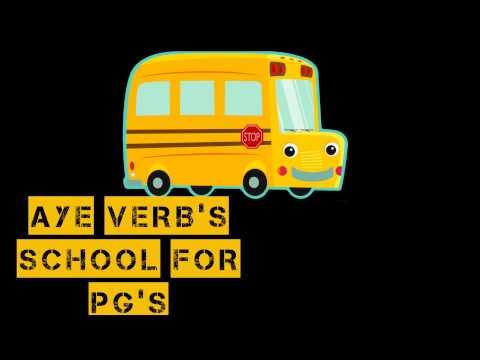 @Ayeverb School of PG Part 1 By  @dutchjackson1