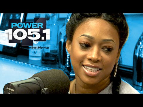 Trina Interview at The Breakfast Club Power 105.1 (11/05/2014)
