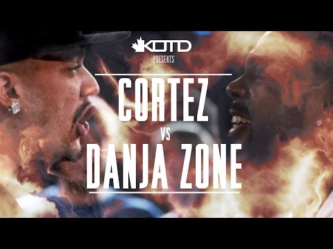 KOTD - Rap Battle - Cortez vs Danja Zone