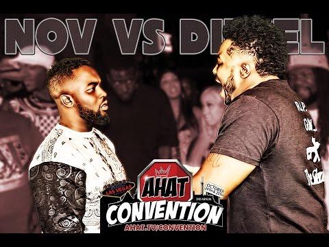 Rap Battle Nov vs Diesel | New Jersey vs California | AHAT Convention