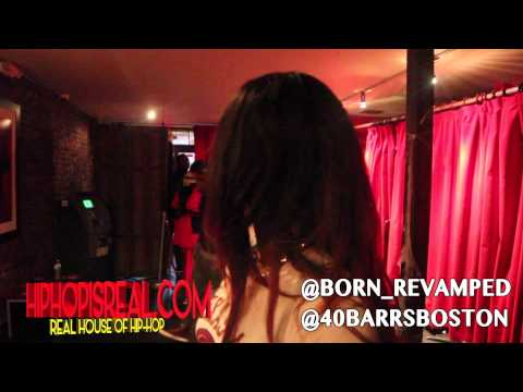 40 B.A.R.R.S CRASHES BORN INTERVIEW AT BLOOD SWEAT & TIERS @HIPHOPISREALTV