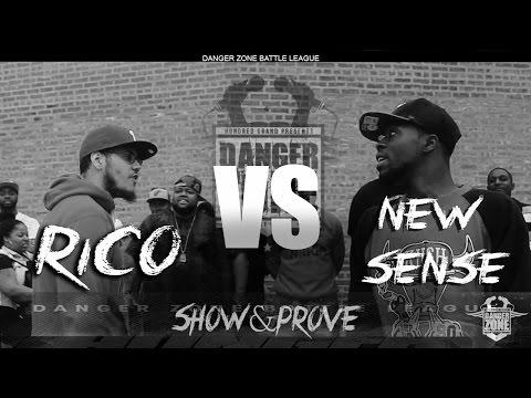 Danger Zone Battle League: Rico vs Know Sense