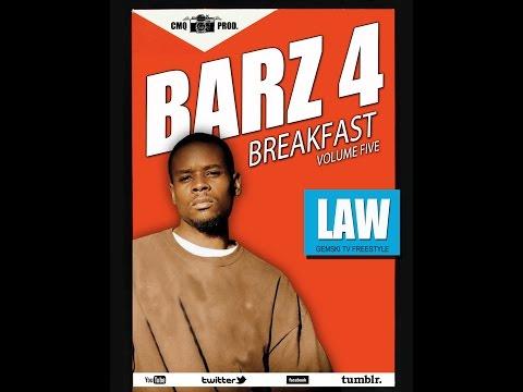 Gemski TV & CMQ Productions Barz 4 Breakfast Vol. 5 featuring Law