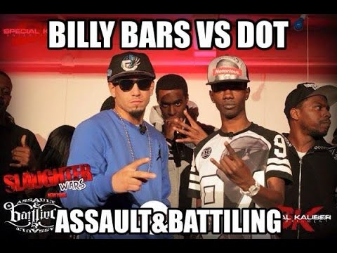 A&B #EAST Presents: DOT VS BILLY BARS [SLAUGHTER WARS]   Hosted By: Gwitty And Bing Nation 