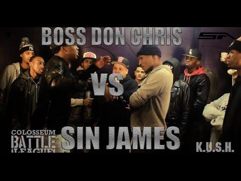 TCBL DRAFT CARD - Sin Flee vs Boss Don Chris