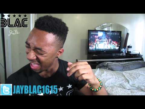 @JAYBLAC1615 - @JAZTHERAPPER VS 40 BARRS REACTIONS