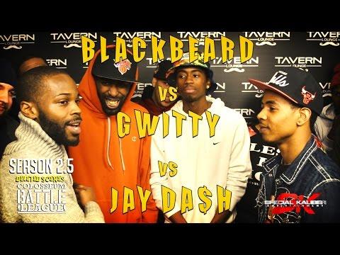 SEASON 2.5 DELETED SCENES - BLACK BEARD vs GWITTY vs JAY DA$H Presented by TCBL